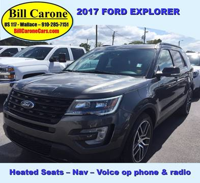 2017 Ford Explorer for sale in Wallace, NC