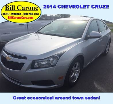 2014 Chevrolet Cruze for sale in Wallace, NC