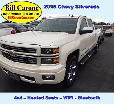 2015 Chevrolet Silverado 1500 for sale in Wallace, NC