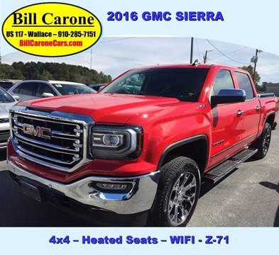 2016 GMC Sierra 1500 for sale in Wallace, NC