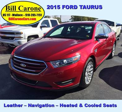 2015 Ford Taurus for sale in Wallace, NC