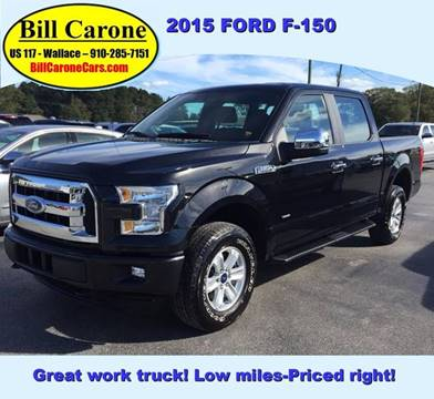 2015 Ford F-150 for sale in Wallace, NC