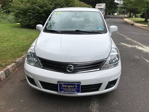 2010 Nissan Versa for sale at Nerger's Auto Express in Bound Brook NJ