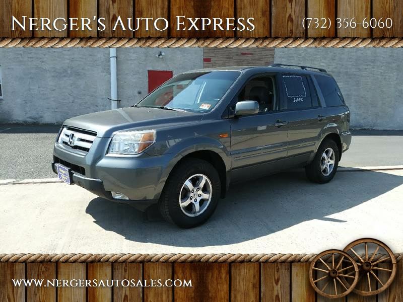 2007 Honda Pilot For Sale At Nergeru0027s Auto Express In Bound Brook NJ