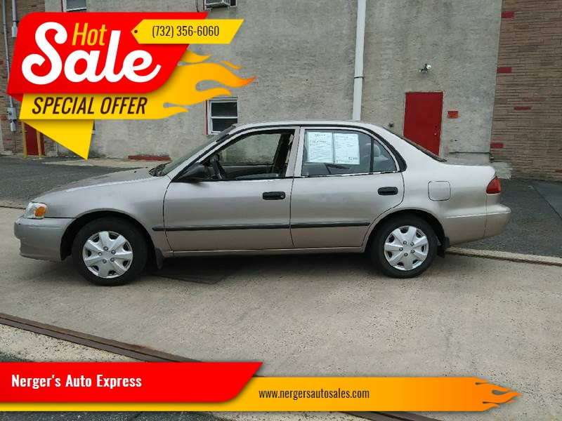 2001 Toyota Corolla For Sale At Nergeru0027s Auto Express In Bound Brook NJ