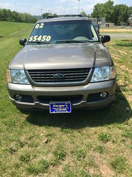 2002 Ford Explorer for sale at Nerger's Auto Express in Bound Brook NJ