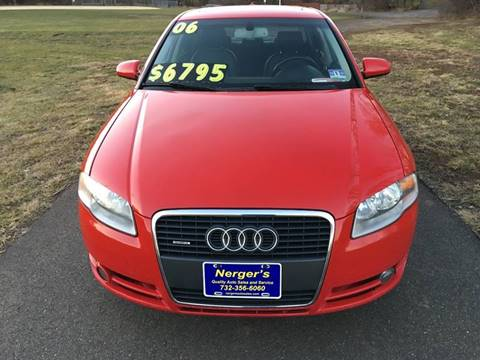 2006 Audi A4 for sale at Nerger's Auto Express in Bound Brook NJ