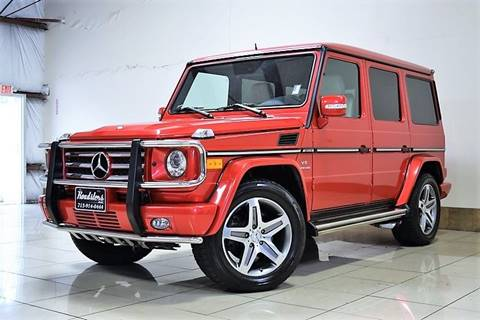 2011 Mercedes-Benz G-Class for sale in Houston, TX