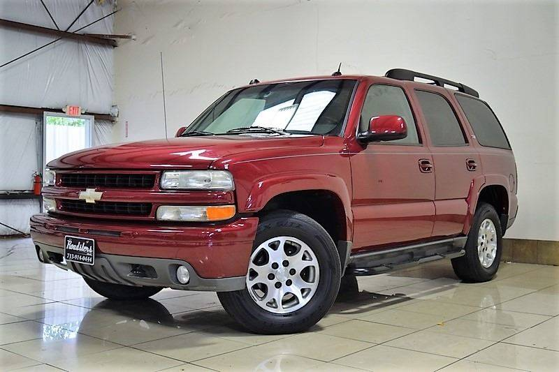 2005 Chevrolet Tahoe Z71 4wd 4dr Suv In Houston Tx