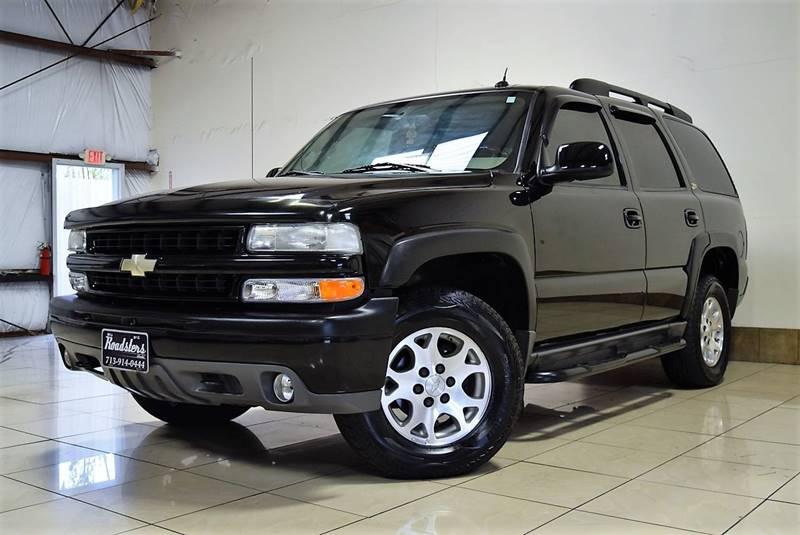 2004 Chevrolet Tahoe Z71 >> 2004 Chevrolet Tahoe Z71 4wd 4dr Suv In Houston Tx
