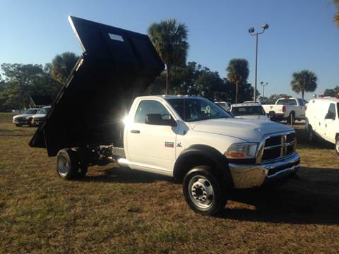 2012 RAM Ram Chassis 5500 for sale in Deland, FL