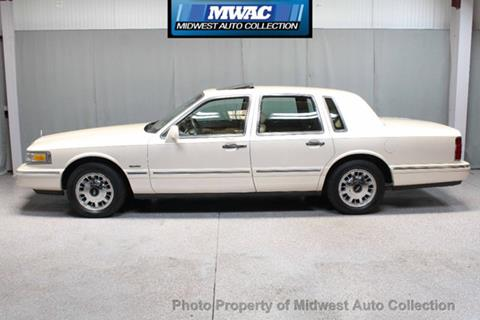 1997 lincoln town car for sale in illinois. Black Bedroom Furniture Sets. Home Design Ideas