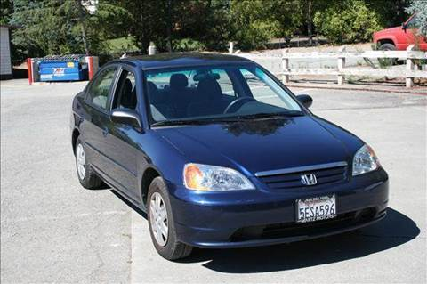 2003 Honda Civic for sale at MARTZ MOTORS in Pleasant Hill CA