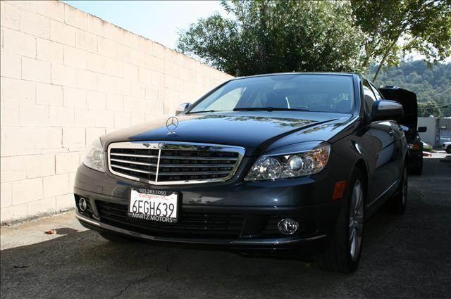 2008 Mercedes-Benz C-Class for sale at MARTZ MOTORS in Pleasant Hill CA