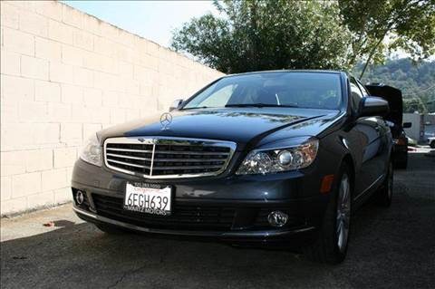 2008 Mercedes-Benz C-Class for sale at MARTZ MOTORS in Pleasant Hill CA