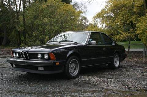1986 BMW 6 Series for sale at MARTZ MOTORS in Pleasant Hill CA