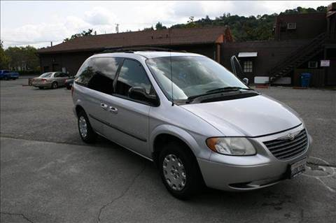 2001 Chrysler Voyager for sale at MARTZ MOTORS in Pleasant Hill CA