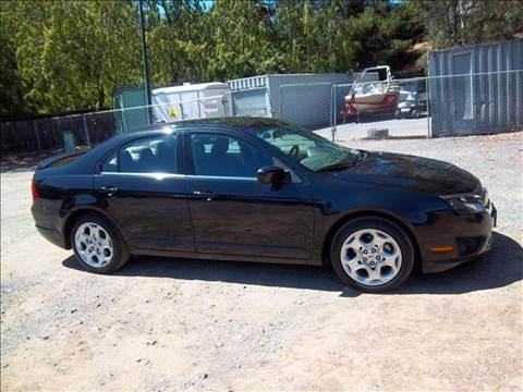 2010 Ford Fusion for sale at MARTZ MOTORS in Pleasant Hill CA