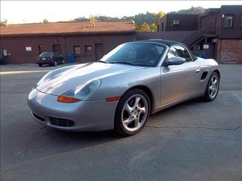 2002 Porsche Boxster for sale at MARTZ MOTORS in Pleasant Hill CA