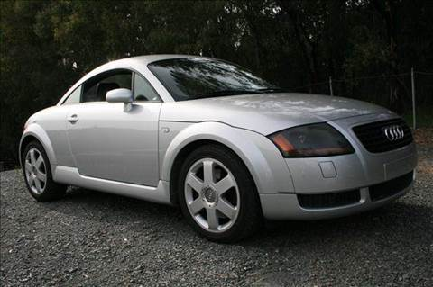 2002 Audi TT for sale at MARTZ MOTORS in Pleasant Hill CA
