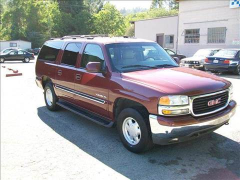 2000 GMC Yukon XL for sale at MARTZ MOTORS in Pleasant Hill CA