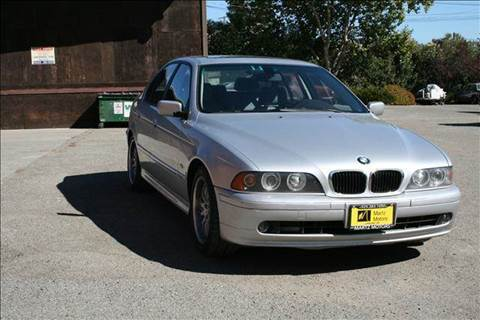 2003 BMW 5 Series for sale at MARTZ MOTORS in Pleasant Hill CA