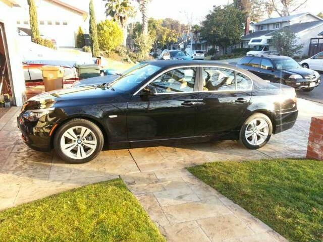 2010 BMW 5 Series for sale at MARTZ MOTORS in Pleasant Hill CA