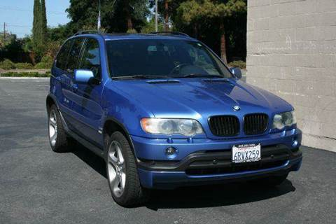2003 BMW X5 for sale at MARTZ MOTORS in Pleasant Hill CA