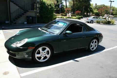 2001 Porsche 911 for sale at MARTZ MOTORS in Pleasant Hill CA