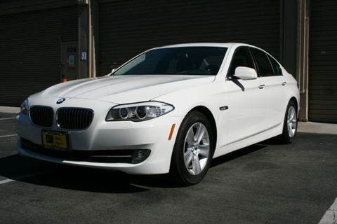 2013 BMW 5 Series for sale at MARTZ MOTORS in Pleasant Hill CA