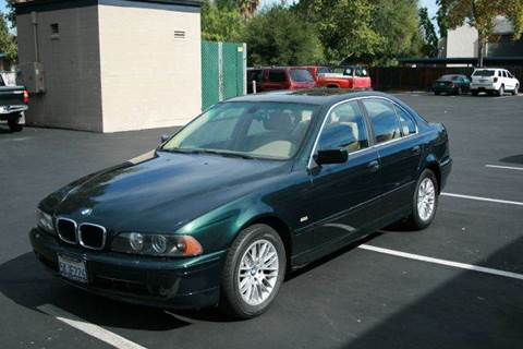 2001 BMW 5 Series for sale at MARTZ MOTORS in Pleasant Hill CA