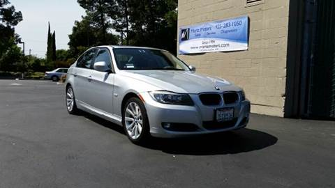 2011 BMW 3 Series for sale at MARTZ MOTORS in Pleasant Hill CA