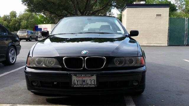 2002 BMW 5 Series for sale at MARTZ MOTORS in Pleasant Hill CA