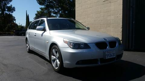 2006 BMW 5 Series for sale at MARTZ MOTORS in Pleasant Hill CA