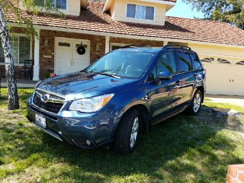2014 Subaru Forester for sale at MARTZ MOTORS in Pleasant Hill CA