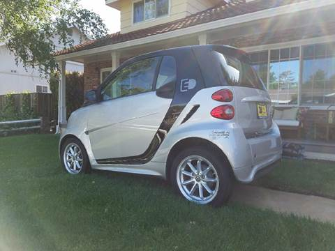 2015 Smart fortwo electric drive for sale at MARTZ MOTORS in Pleasant Hill CA
