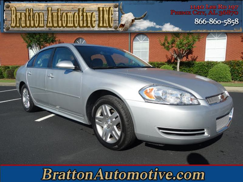 2015 Chevrolet Impala Limited for sale at Bratton Automotive INC in Phenix City AL