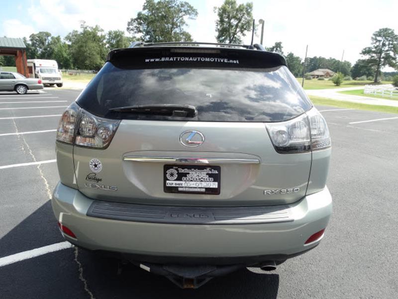 2004 Lexus RX 330 for sale at Bratton Automotive INC in Phenix City AL