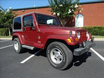 2001 Jeep Wrangler for sale at Bratton Automotive INC in Phenix City AL