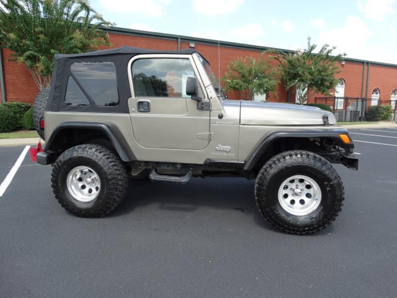 2003 Jeep Wrangler for sale at Bratton Automotive INC in Phenix City AL