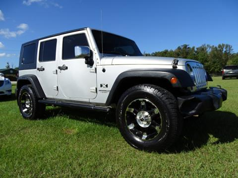 2008 Jeep Wrangler Unlimited for sale at Bratton Automotive INC in Phenix City AL