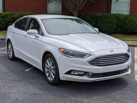 2017 Ford Fusion for sale at Bratton Automotive Inc in Phenix City AL