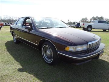 1994 Chevrolet Caprice for sale at Bratton Automotive INC in Phenix City AL