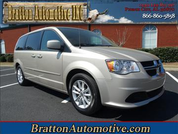 2015 Dodge Grand Caravan for sale at Bratton Automotive INC in Phenix City AL