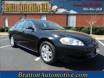 2016 Chevrolet Impala Limited for sale at Bratton Automotive INC in Phenix City AL