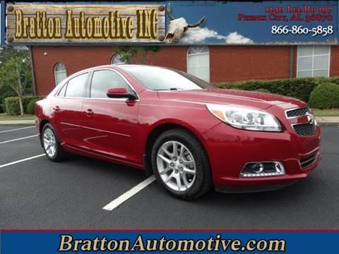 2013 Chevrolet Malibu for sale at Bratton Automotive INC in Phenix City AL
