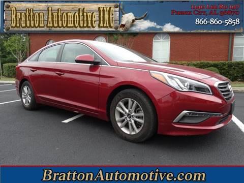 2015 Hyundai Sonata for sale at Bratton Automotive INC in Phenix City AL