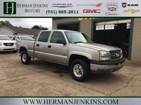2003 Chevrolet Silverado 1500HD for sale at Herman Jenkins Used Cars in Union City TN
