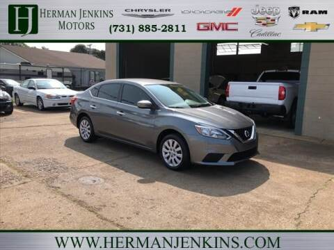 2017 Nissan Sentra for sale at Herman Jenkins Used Cars in Union City TN