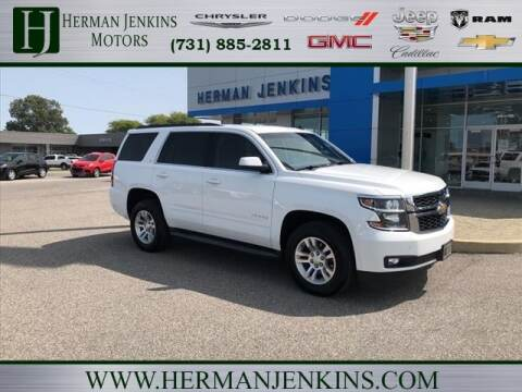 2015 Chevrolet Tahoe for sale at Herman Jenkins Used Cars in Union City TN